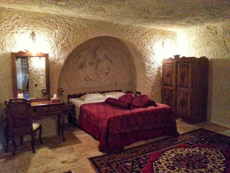 Phocas Cave Suites Odalar