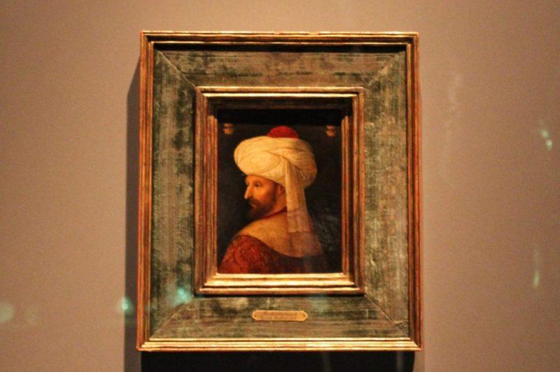 Bellini'nin Kanuni Sultan Süleyman portresi, Islamic Art Museum, Doha-Katar