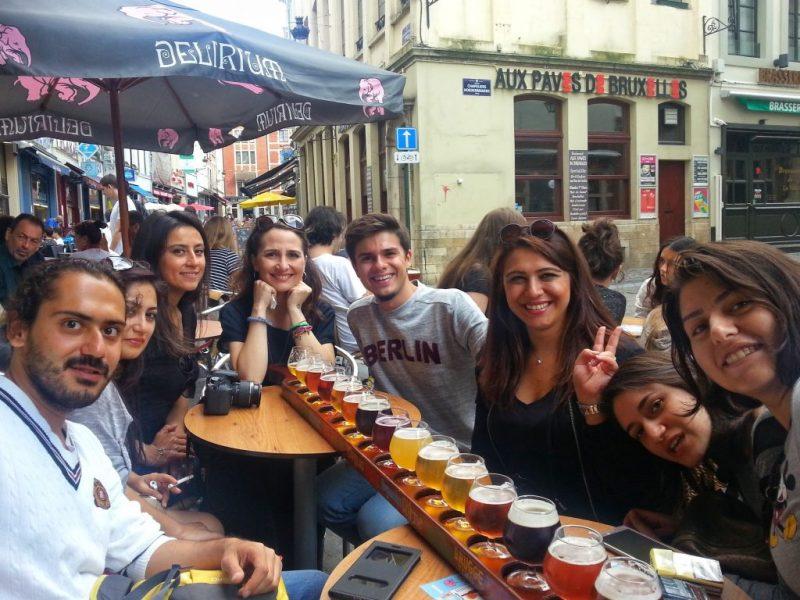 Brüksel'de bira denemece ;)