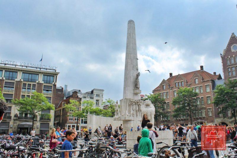 Dam Meydanı, Amsterdam-Hollanda