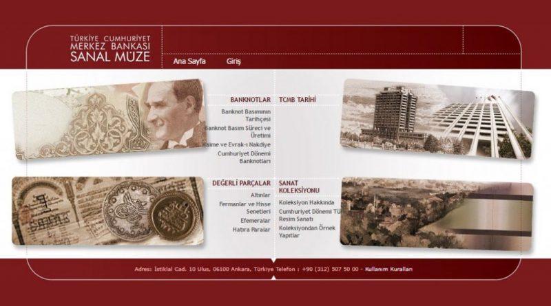TCMB Para Müzesi, sanalmuze.tcmb.gov.tr