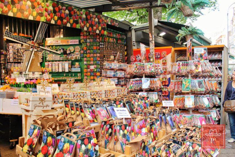 Bloemenmarkt, Amsterdam-Hollanda
