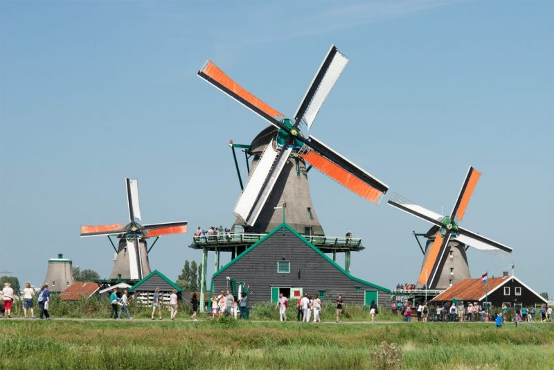 Zaanse Schans, Amsterdam-Hollanda by http://dutchguide.nl